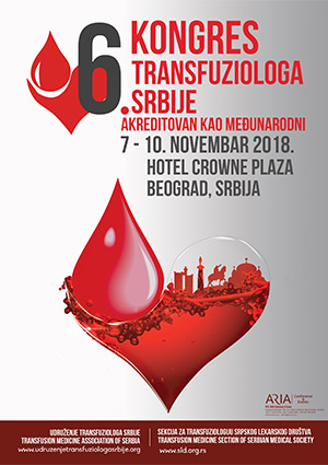 6. Kongres transfuziologa Srbije akreditovan kao međunarodni