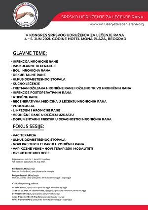 V Kongres Srpskog udruženja za lečenje rana
